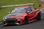 決勝2位の篠原拓朗(Audi RS 3 LMS)