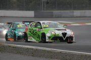 決勝3位、ジェントルマンクラス優勝の前嶋秀司(ALFA ROMEO GIULIETTA TCR)