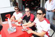 マルコ・ボナノーミ/武藤英紀/ベルトラン・バゲット組(Honda Team Motul)