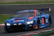 予選2位のドリス・バンスール/ケルビン・ファン・デル・リンデ/フレディック・ヴェルビッシェ組(Audi Sport Team WRT)