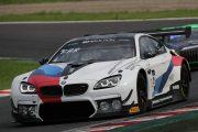 ポールポジションのマーチン・トムチュク/ニコラス・イェロリー/アウグスト・ファルフス組(BMW Team Schnitzer)