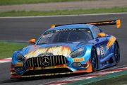 シルバークラストップタイムのニコ・バスティアン/ミカエル・グルニエ/ケニー・ハブル組(SunEnergy1 Racing)