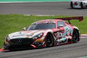 決勝10位は谷口信輝/片岡龍也/小林可夢偉組(Mercedes-AMG Team Goodsmile)