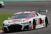 決勝7位はマルクス・ウィンケルホック/クリストファー・ハーゼ/クリストファー・ミース組(Audi Sport Team Absolute Racing)
