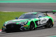 決勝4位はマキシミリアン・ゲーツ/ルカ・シュトルツ/イェルマー・ブルマン組(Mercedes-AMG Team CraftBamboo Racing)
