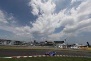 レースは終始ドライコディションで行われた