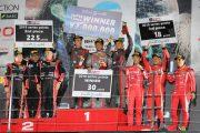 スーパー耐久賞の表彰式