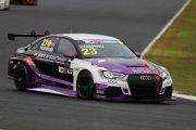 ジェントルマンクラス3位のYOSHIKI(Audi RS 3 LMS)