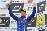 決勝3位の川合孝汰(Le Beausset Motorsports)