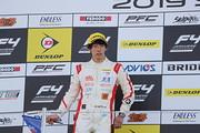決勝2位の佐藤蓮(Hondaフォーミュラ・ドリーム・プロジェクト)