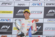 優勝した佐藤蓮(Hondaフォーミュラ・ドリーム・プロジェクト)