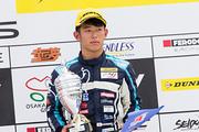 決勝3位の太田格之進(Hondaフォーミュラ・ドリーム・プロジェクト)