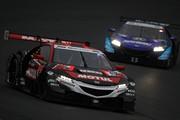 SGTxDTM交流戦レース2: このレースで引退する中嶋大祐(MOTUL MUGEN NSX-GT)は6位でレースを終えた