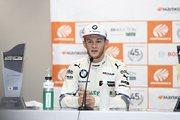 SGTxDTM交流戦レース2記者会見: 2位のマルコ・ヴィットマン(BMW Team RBM)