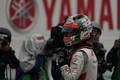 決勝レース: GT300クラスで優勝した福住仁嶺(ARTA)