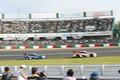 決勝レース: 大嶋和也(WAKO\'S 4CR LC500)と関口雄飛(au TOM\'S LC500)のトップ争い