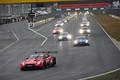 決勝レース: セーフティーカー先導でレースが始まった