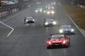 決勝レース: GT500クラスからスタートが切られた