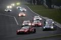 決勝レース: GT500クラスのトップ争い