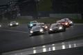 決勝レース: GT500クラスの争い