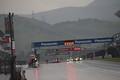 決勝レース: レースは豪雨のため赤旗中断