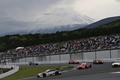 決勝レース: 富士山が顔を出した