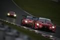 決勝レース: ロニー・クインタレッリ(MOTUL AUTECH GT-R)をパスした立川祐路(ZENT CERUMO LC500)