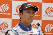 予選記者会見: GT300クラスポールポジションの平峰一貴(KONDO RACING)