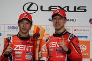 決勝フォトセッション: GT500クラス優勝のドライバー