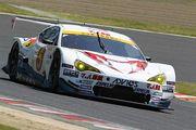 GT300クラス予選3位は坂口夏月/平木湧也組(ADVICSマッハ車検MC86マッハ号)