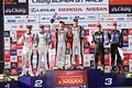 決勝レース: GT300クラスの表彰式