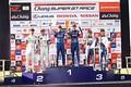 決勝レース: GT500クラスの表彰式