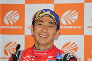 決勝記者会見: GT500クラスポールポジションの松田次生(NISMO)