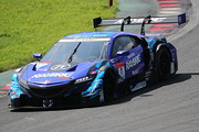 GT500クラス決勝2位は山本尚貴/ジェンソン・バトン組(RAYBRIG NSX-GT)
