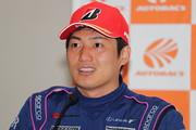 GT500クラスで優勝した大嶋和也(LEXUS TEAM LEMANS WAKO\'S)
