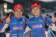 GT500クラスで優勝した大嶋和也と山下健太(LEXUS TEAM LEMANS WAKO\'S)