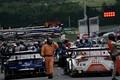 公式予選: コースインを待つGT500マシン
