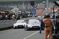 決勝レース: ピットインするヤン・マーデンボロー(リアライズコーポレーションADVAN GT-R)