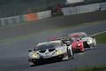 決勝レース: 小暮卓史(マネパ ランボルギーニ GT3)とアレックス・パロウ(McLaren 720S)のGT300トップ争い