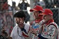 決勝レース: GT500クラスで優勝した中山雄一とヘイッキ・コバライネン(LEXUS TEAM SARD)