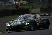 GT300クラス予選3位は藤井誠暢/ジョアオ・パオロ・デ・オリベイラ組(D\'station Vantage GT3)
