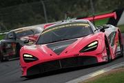 GT300クラス決勝2位は荒聖治/アレックス・パロウ組(McLaren 720S)