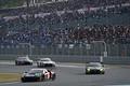 決勝レース: レース序盤GT300クラス上位陣の争い