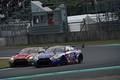 決勝レース: 平中克幸(GAINER TANAX GT-R) vs サッシャ・フェネストラズ(リアライズ日産自動車大学校GT-R)