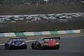 決勝レース: サッシャ・フェネストラズ(リアライズ日産自動車大学校GT-R) vs 平中克幸(GAINER TANAX GT-R)
