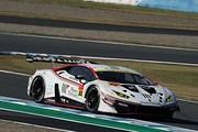公式練習: GT300クラス2位は小暮卓史/元嶋佑弥組(マネパ ランボルギーニ GT3)