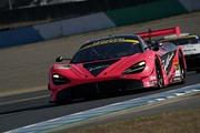 GT300クラスポールポジションは荒聖治/アレックス・パロウ組(McLaren 720S)