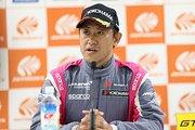 予選記者会見: GT300クラスポールポジションの荒聖治(McLaren Customer Racing Japan)