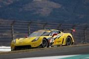 スプリントカップレース2: 決勝3位は武井真司/笹原右京組(BH AUCTION CORVETTE GT3)