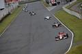 決勝レース: ストレートを駆ける序盤の上位勢